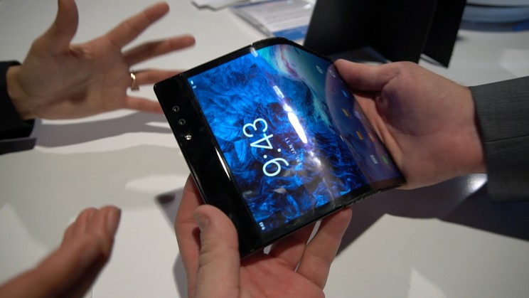 technological innovations flexible screens